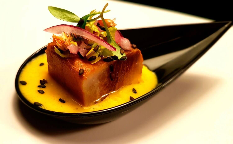 Tataki de pez mantequilla